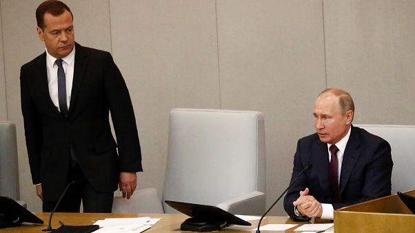 Медведев вновь возглавил правительство