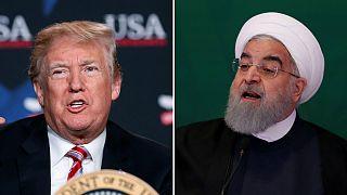 Donald Trump tem vindo a distanciar-se cada vez mais de Hassan Rouhani