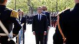 L'otto maggio di Macron a Parigi