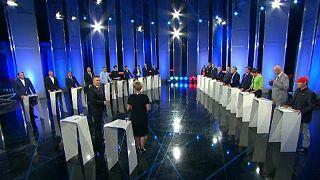 Az összes miniszterelnökjelölt megjelent a tévévitán