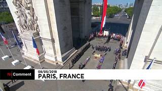 France celebrates Victory in Europe Day on May 8