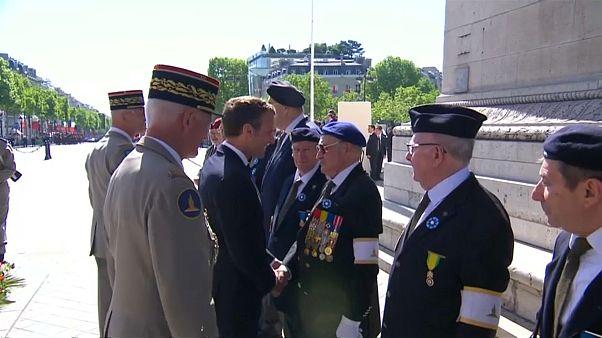 Fransa'da Zafer Günü kutlamaları