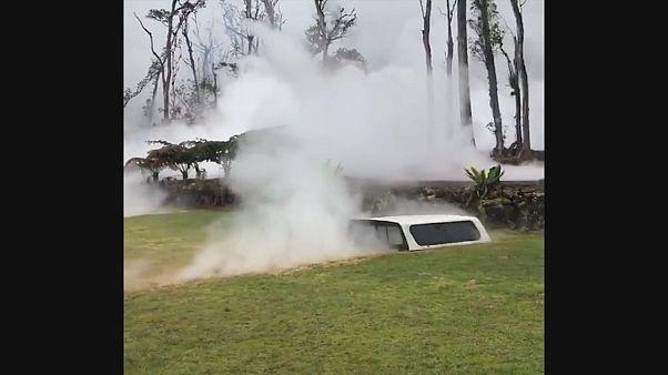O terrível espetáculo do Kilauea