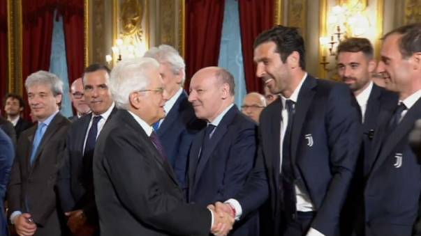 """Mattarella: """"Io arbitro imparziale, ma serve correttezza dei giocatori"""""""
