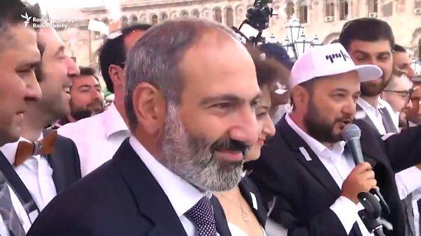 Nikol Pashinián es elegido nuevo primer ministro de Armenia