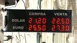 Argentina pedirá ayuda al FMI para afrontar el desplome del peso