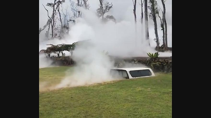 Суровый вулкан Килауэа