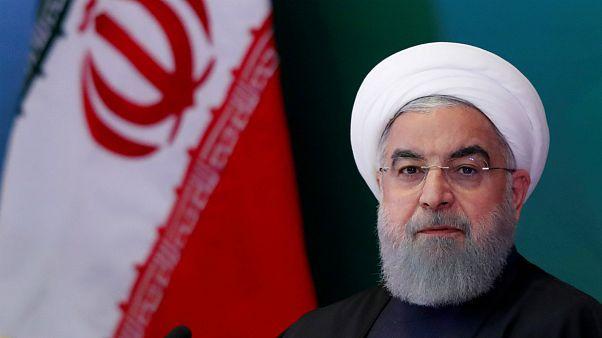 روحانی: خوشحالم که یک موجود مزاحم از برجام خارج شده است