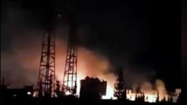 حمله موشکی اسرائیل به «زرادخانه حزب الله و ایران» در سوریه
