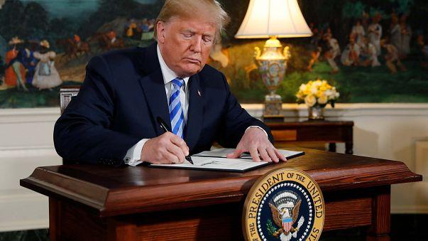 Donald Trump cumple su promesa de campaña y saca a EEUU del Acuerdo Nuclear con Irán