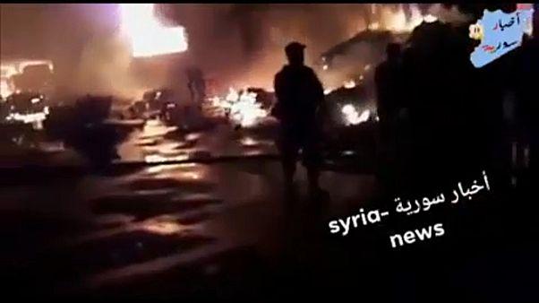 İsrail, füzelerle Şam'a saldırdı