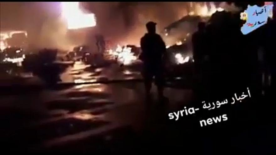 Izrael szíriai célpontokat lőtt