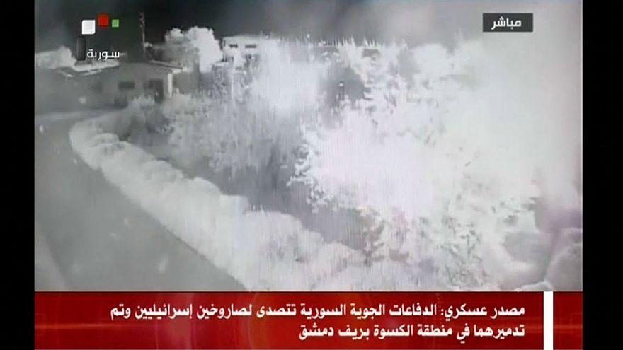 Сирия обвиняет Израиль в ракетном ударе