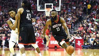 NBA: Houston Rockets Batı Konferansı finalinde