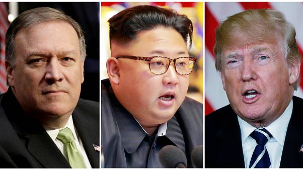 Mike Pompeo está na Coreia do Norte