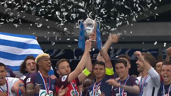 Paris Saint Germain beat Les Herbier in French Cup to secure treble