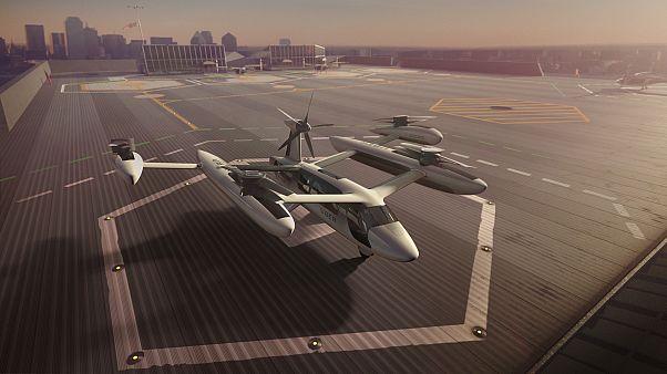 Uber presenta el prototipo del taxi volador