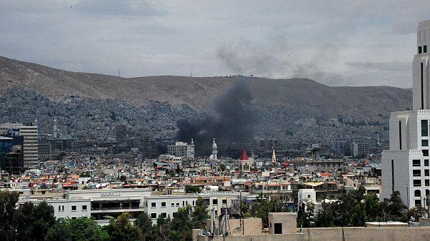 دو انفجار همزمان در دمشق، پایتخت سریه