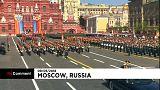 شاهد: روسيا تحتفل بعيد النصر بعرض عسكري ضخم
