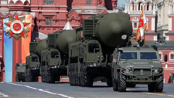 Την Ημέρα της Νίκης γιόρτασε η Ρωσία