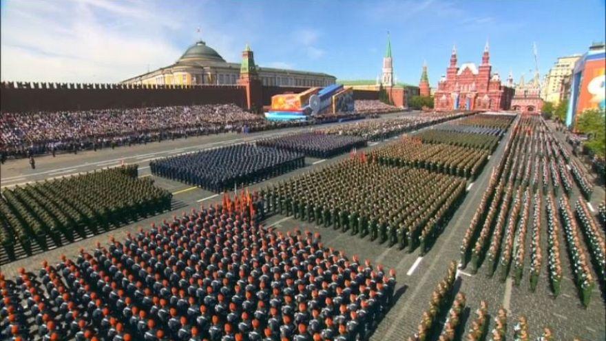 La Russia festeggia la vittoria del 9 maggio 1945