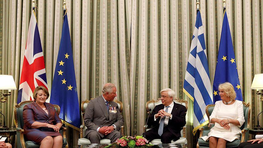 Στην Ελλάδα ο πρίγκιπας Κάρολος - Πρ. Παυλόπουλος: Σημαντικός κρίκος στην «αλυσίδα φιλίας» Ελλάδας