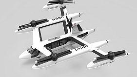 Uber stellt Pläne für ein fliegendes Taxi vor