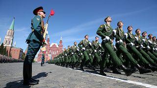 La Russie parade pour célébrer la victoire sur l'Allemagne nazie