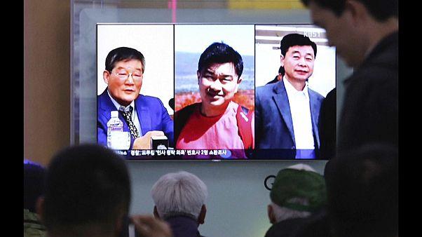 Vor Gipfel: Nordkorea gibt US-Außenminister drei Häftlinge mit