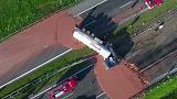 Choc-a-block: Milk chocolate spillage closes Polish motorway