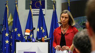 La cheffe de la diplomatie européenne Federica Mogherini