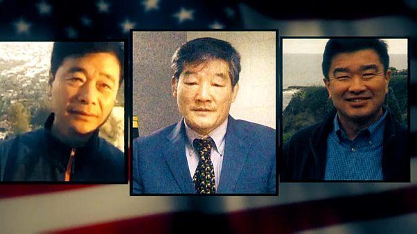 Американцы возвращаются домой из тюрьмы в КНДР
