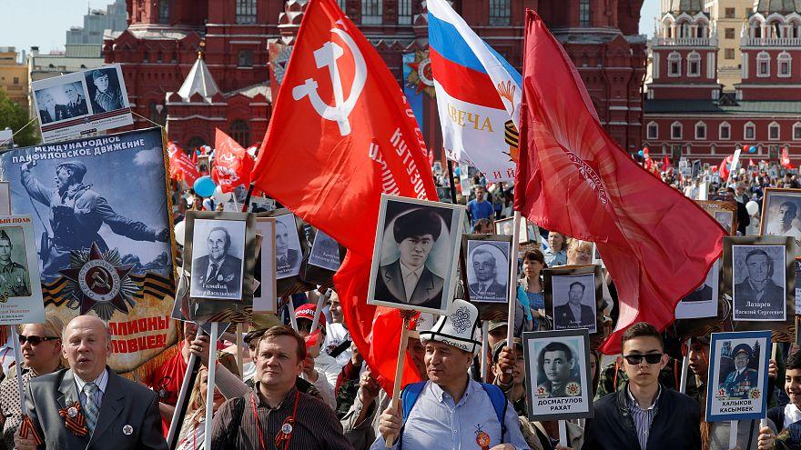 La Russie célèbre le 9 mai 1945