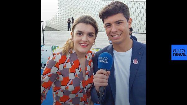 Amaia y Alfred nos cuentan con que concursantes de Eurovisión se llevan mejor