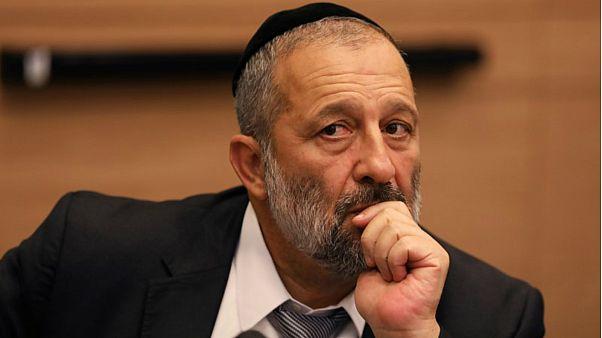 وزير الداخلية الإسرائيلي أرييه درعي