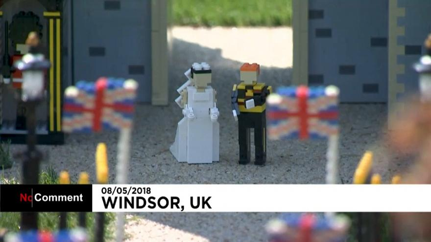 Le mariage princier version Lego