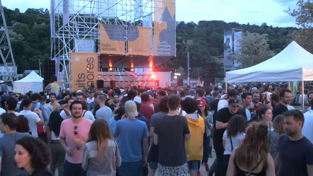 Lyon's Nuits Sonores electro music festival