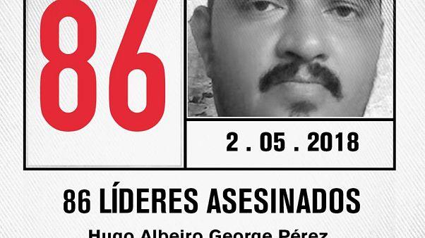 La paix menacée par les assassinats en Colombie
