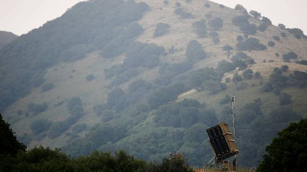 Позиция израильской ПРО на Голанских высотах