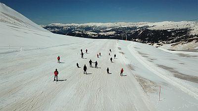 Subtropical skiing in Georgia's Adjara