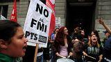 Argentinos contestam pedido de ajuda ao FMI