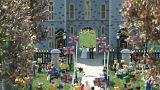 UK's Legoland unveils miniature royal wedding scene