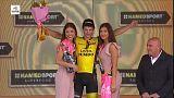 Giro d'Italia: doppietta italiana sul traguardo di Santa Ninfa