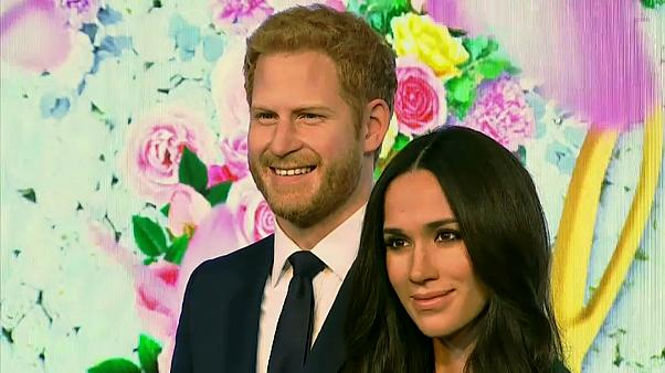 Meghan Markle waxwork unveiled at Madame Tussaud Museum