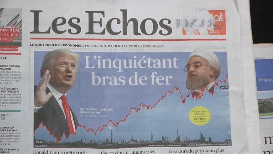 Líderes europeus determinados a manterem acordo com o Irão
