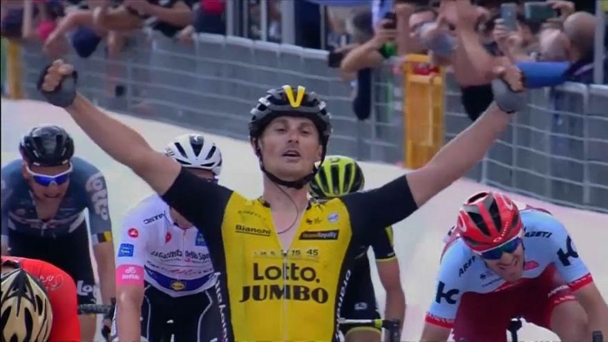 Enrico Battaglin reverdece laureles en el Giro de Italia