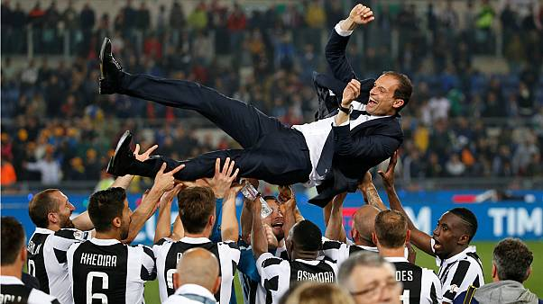 يوفنتوس يهزم ميلانو ويفوز بكأس إيطاليا لكرة القدم