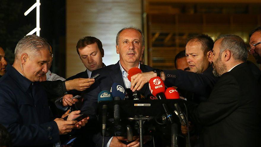 Cumhurbaşkanı adayı İnce Erdoğan'a başarı diledi