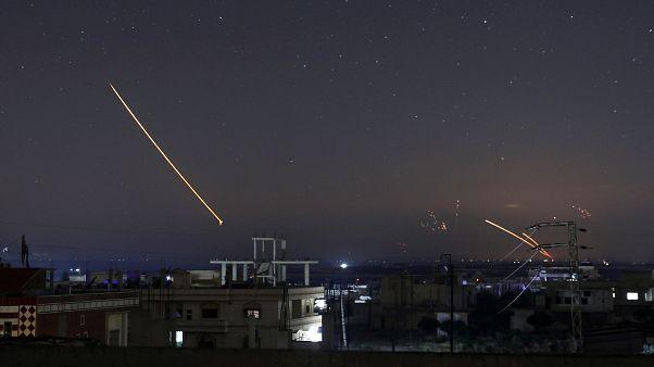 حملات متقابل اسرائیل و سوریه در دمشق و جولان؛ اسرائیل قاسم سلیمانی را مسئول دانست