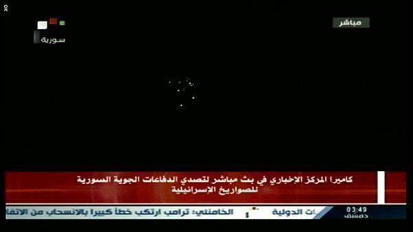 Rakétákkal lövi egymást Izrael és Szíria